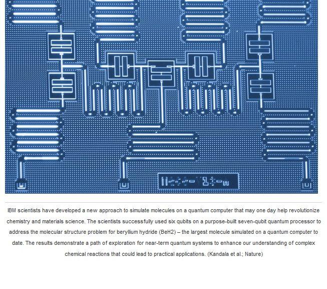 Una computadora cuántica ha simulado la molécula más grande hasta la fecha