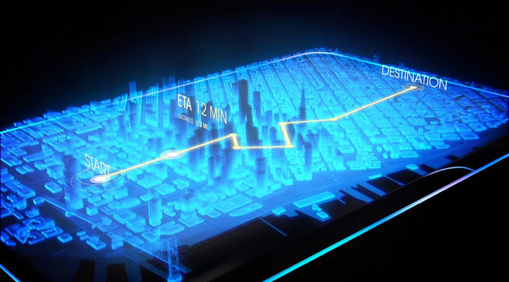 Cómo funciona la pantalla holográfica del teléfono Hydrogen One