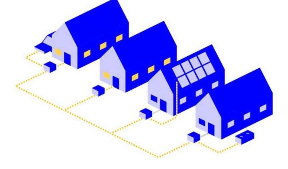 Sus paneles solares podrían energizar al vecindario durante un apagón