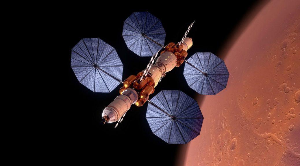 Desvelan la estación espacial para conquistar Marte