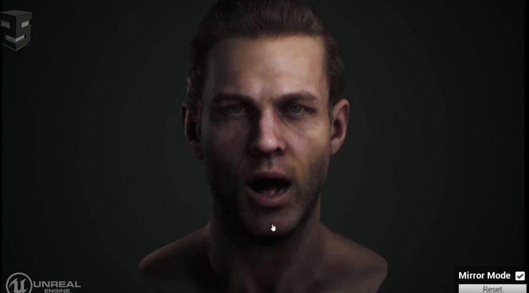 A este alucinante rostro virtual se le mueve hasta el último músculo de la cara