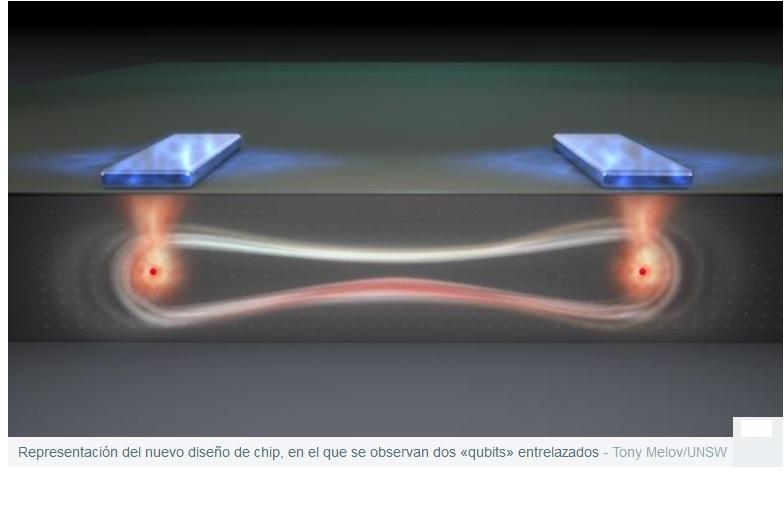 Crean un diseño revolucionario de chip cuántico