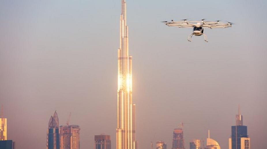 Vuelo exitoso de prueba del taxi autónomo en Dubai