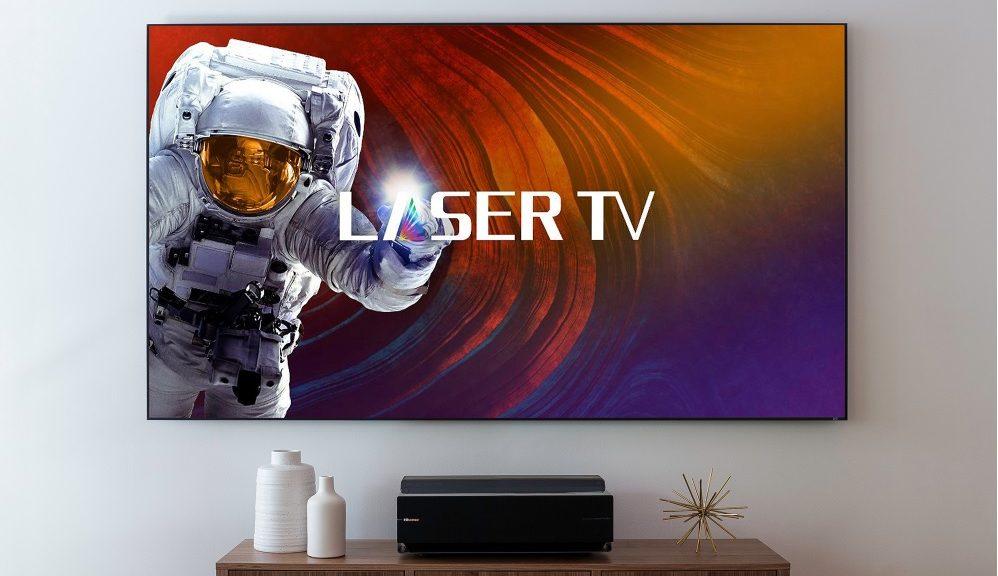 Hisense Laser TV: una mezcla entre Smart TV 4K y proyector de 100 pulgadas