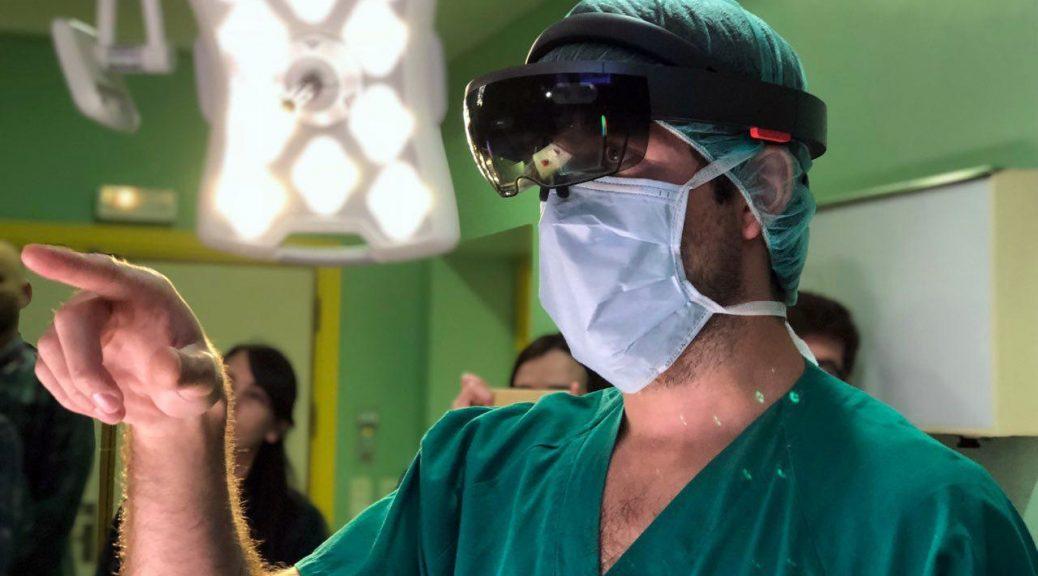 Cirujanos emplearon HoloLens en operación de un cáncer