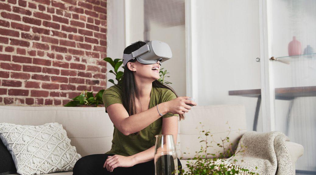 Oculus Go, gafas de realidad virtual que no requieren de un teléfono o cables
