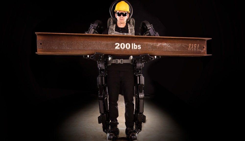 Trabajan en exoesqueletos que le permitirán levantar hasta 450 kg de peso