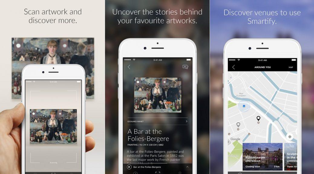 """Aplicación tipo """"Shazam"""" para identificar obras artísticas, gratis para iPhone, iPad, Android"""