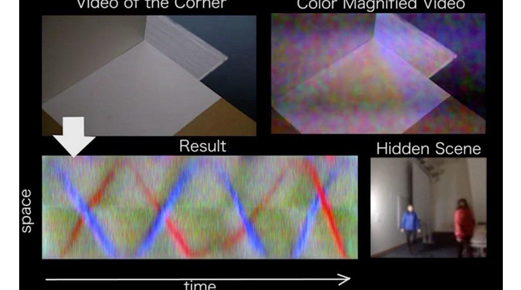 Nueva tecnología permite que hasta la cámara de un teléfono sepa qué hay detrás de una pared
