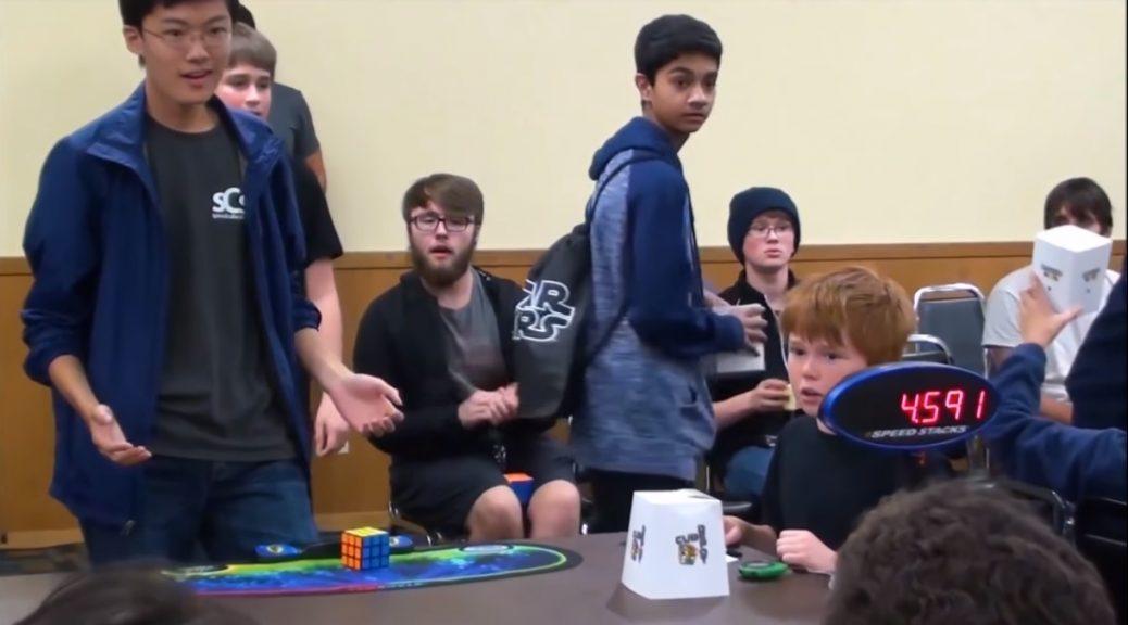 Video del nuevo récord mundial del cubo de Rubik resuelto en 4.591 segundos
