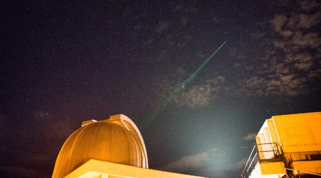Confirman propiedades mecano-cuánticas de la luz en el espacio