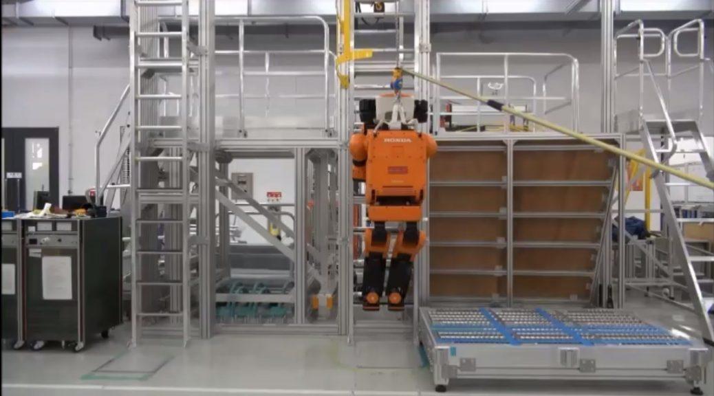 Robot de respuesta a desastres capaz de subir escaleras