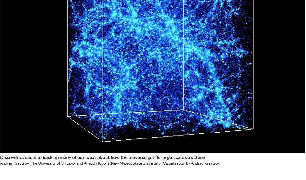 La mitad de la materia faltante en el universo acaba de ser encontrada