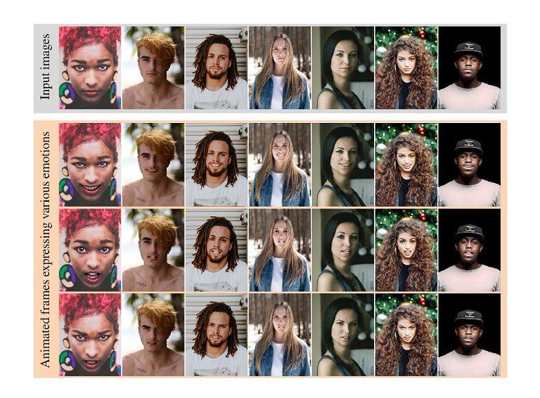Logran crear un video a partir de una sola foto o incluso una pintura