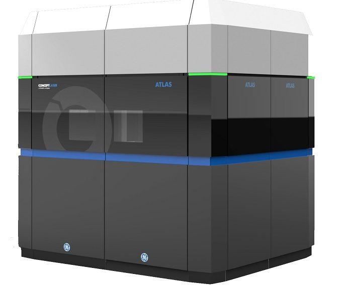 GE presenta su enorme impresora de metal 3D para fabricar partes de avión