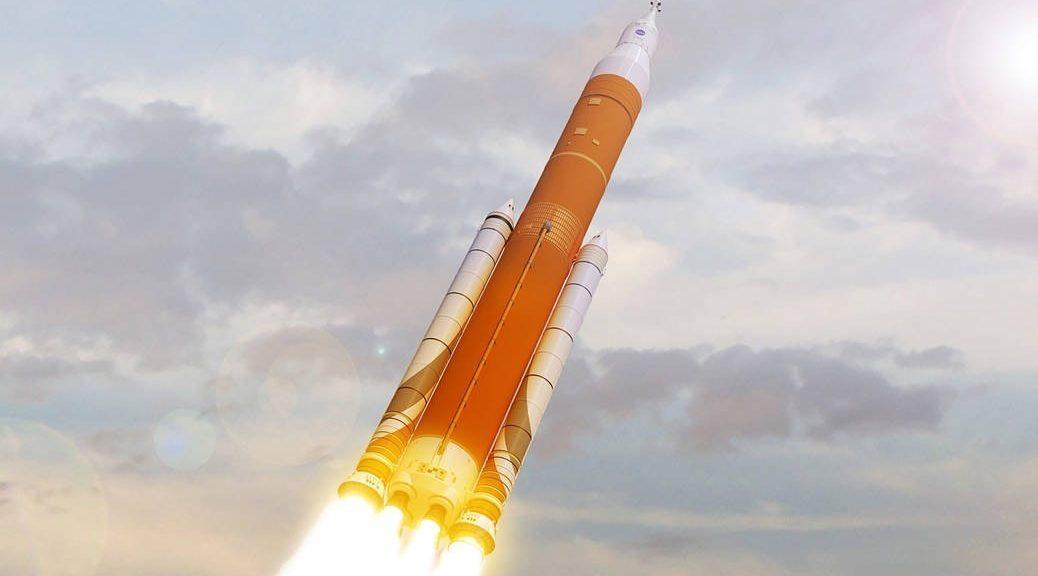 Vea el lanzamiento simulado del cohete que nos llevará a Marte y más allá