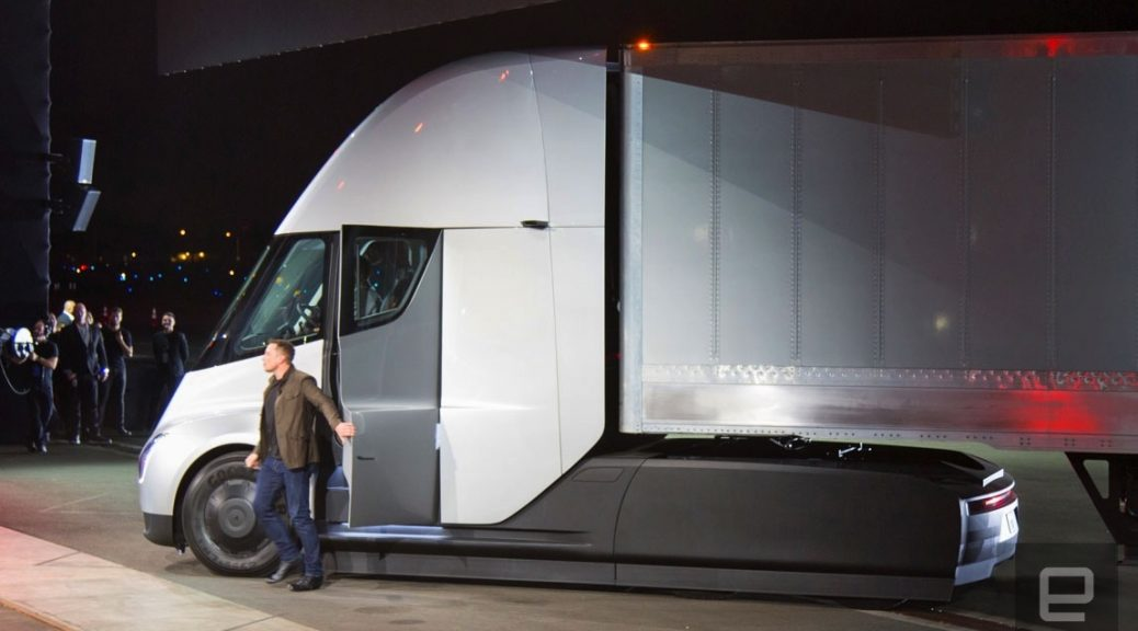 Tesla Semi, el nuevo camión eléctrico de Musk