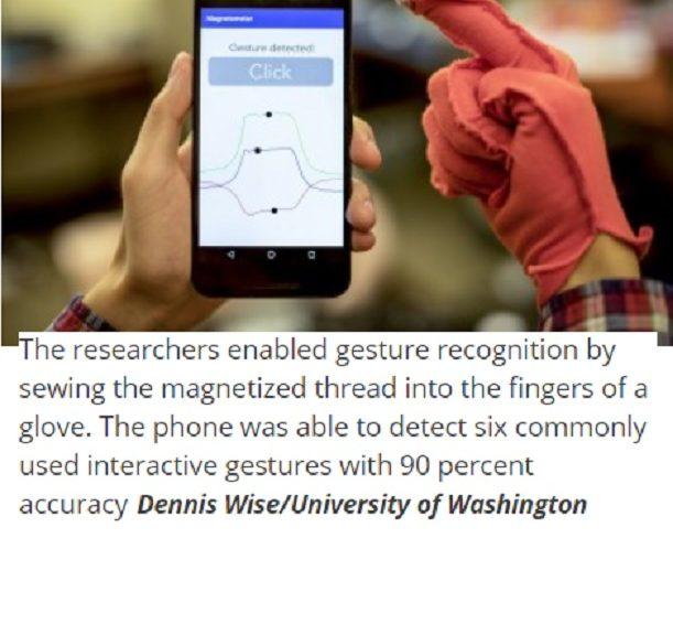 Almacenan información de modo invisible en la ropa y sin electrónica incorporada