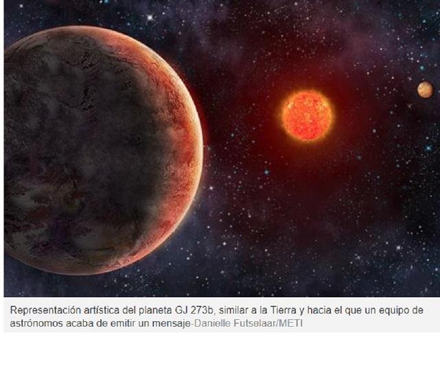 Emiten un nuevo y polémico mensaje hacia un planeta similar a la Tierra