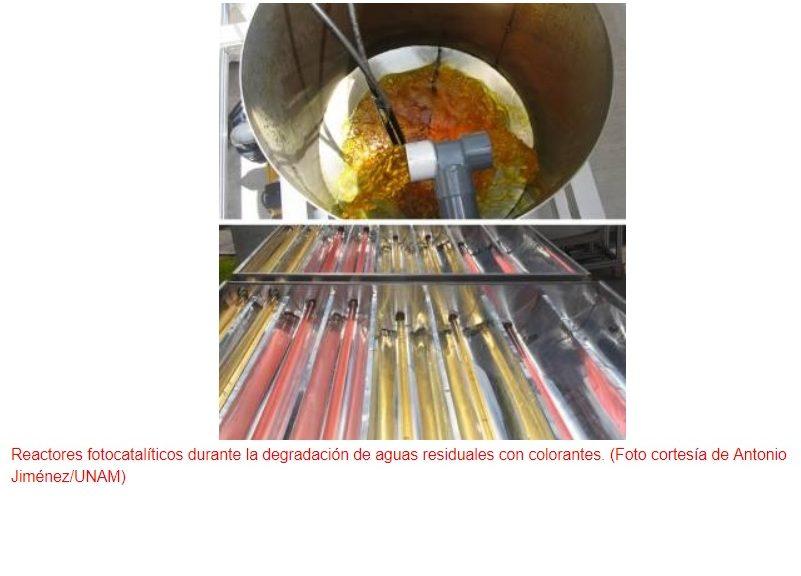 Utilizan la energía solar para descontaminar aguas residuales