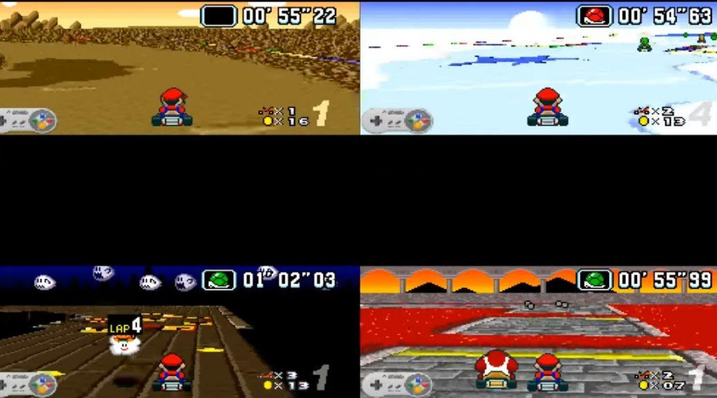 Cómo enseñar a una inteligencia artificial a jugar y ganar en Mario Kart