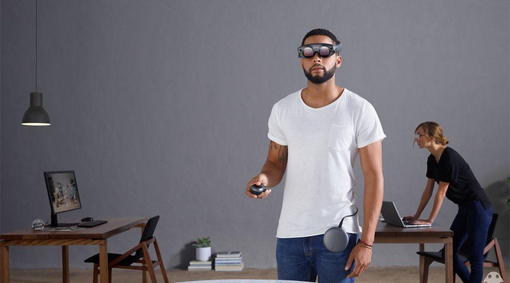 Magic Leap revela su kit de realidad aumentada: gafas, computador y controlador
