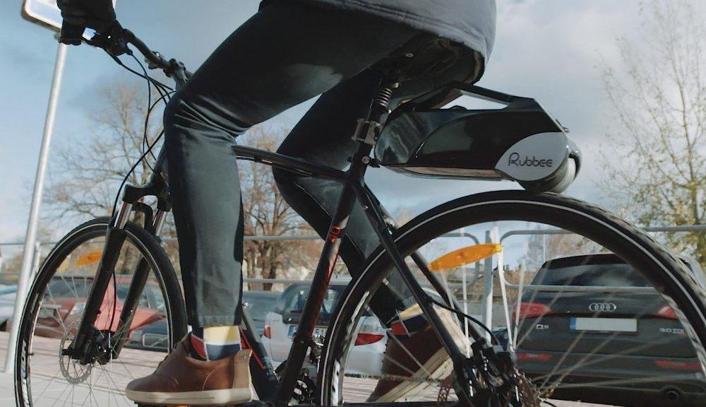 Kit para convertir cualquier bicicleta a bicicleta eléctrica
