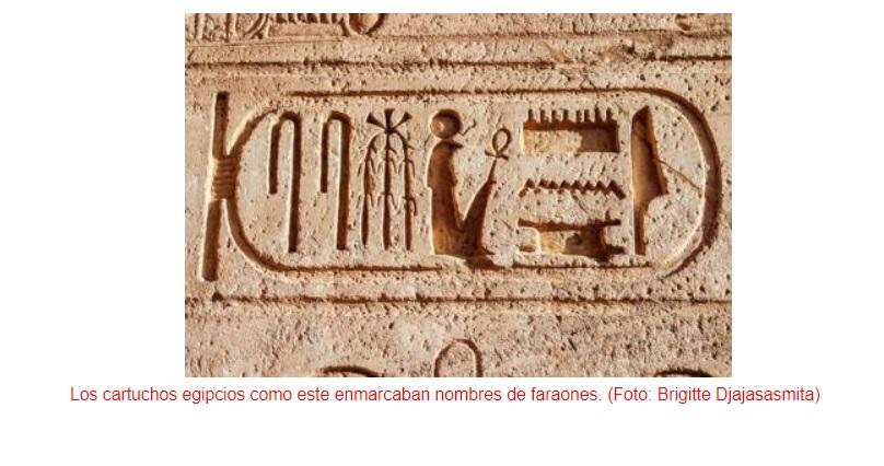 Visión artificial para descifrar jeroglíficos egipcios