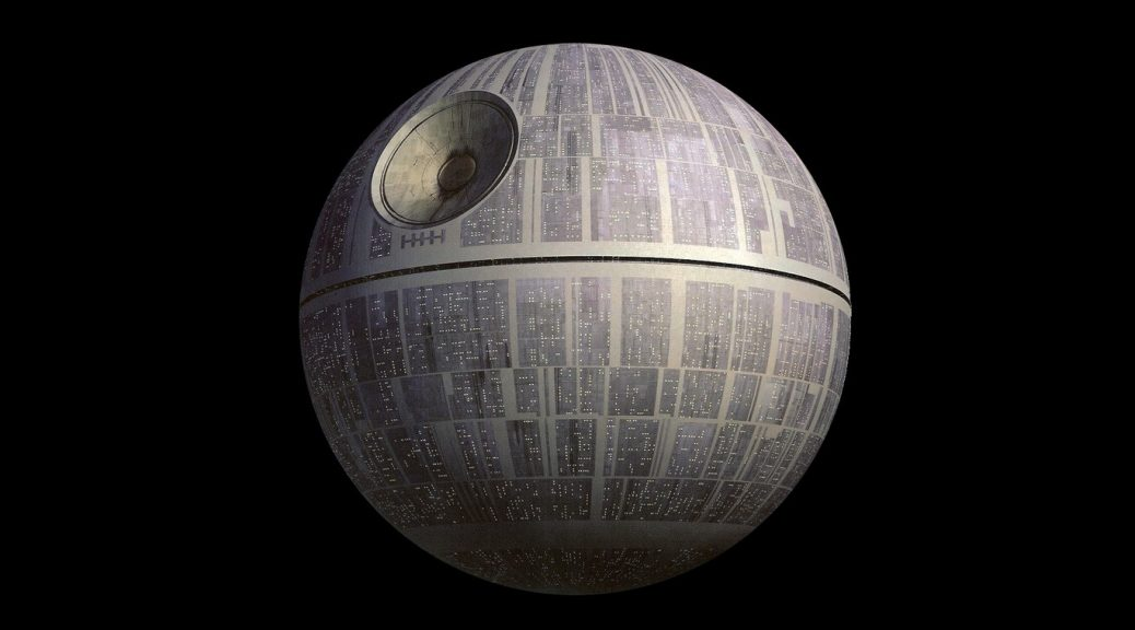 Video muestra cómo sería construir la Estrella de la Muerte de la Guerra de las Galaxias