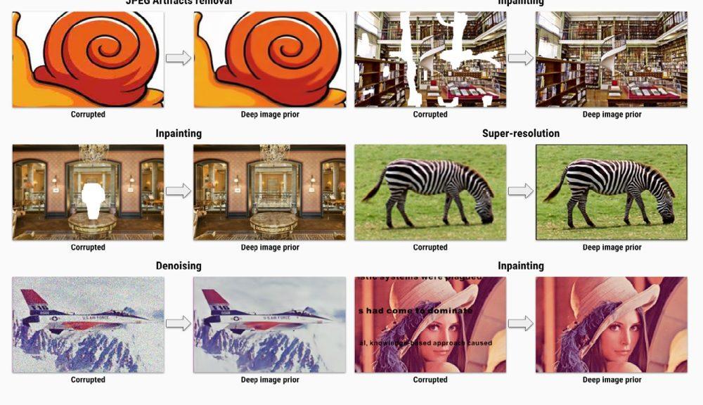 Esta red neuronal puede reparar fotos dañadas y mejorar fotos de baja resolución