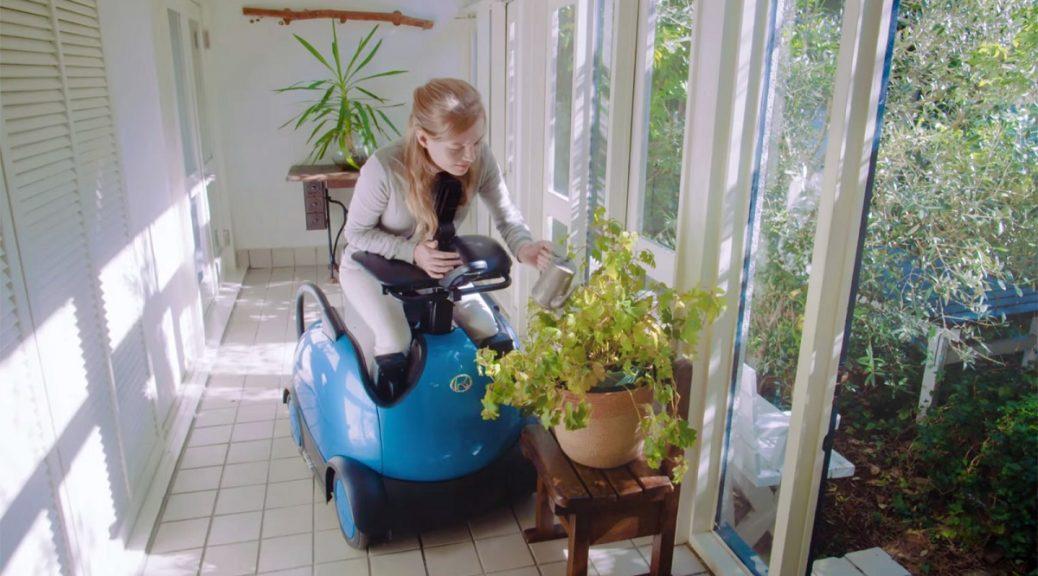 Un tipo de diferente de silla de ruedas robótica