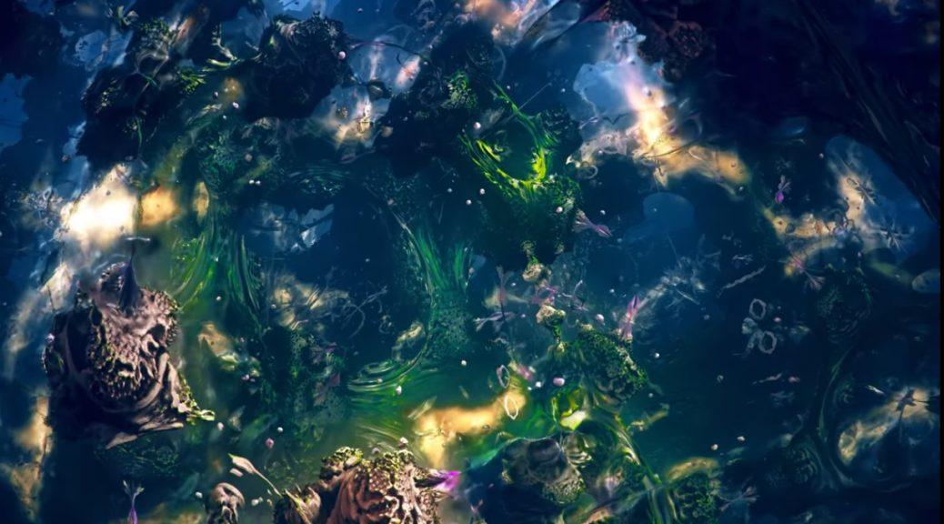 Video musical generado por computadora usando un fractal tridimensional