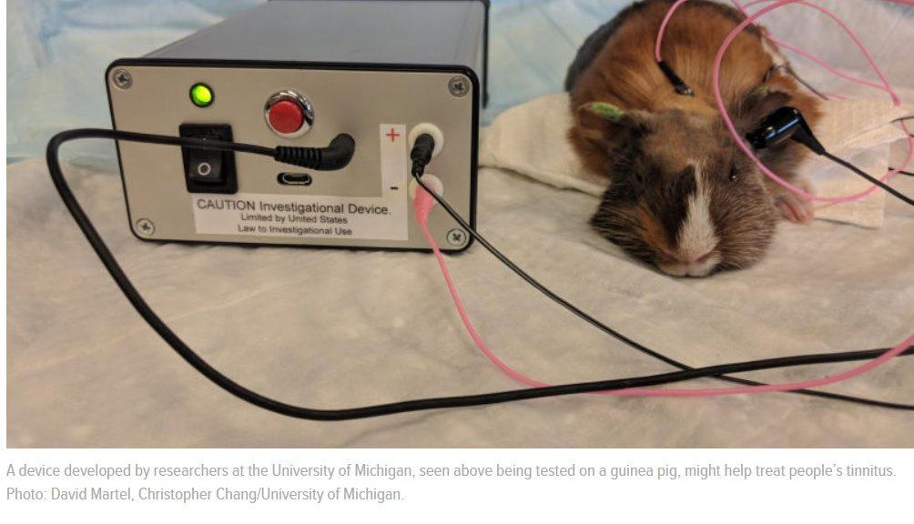 Este pequeño dispositivo podría silenciar los síntomas enloquecedores del tinnitus