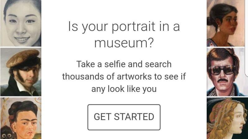 Aplicación de Google le permite buscar quién es su doble en pinturas famosas, gratis para Android, iPhone, iPad