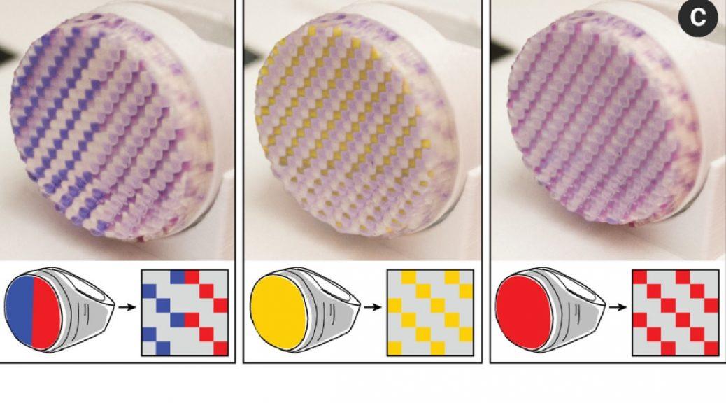 El MIT ahora puede imprimir joyas en 3D que cambian de color