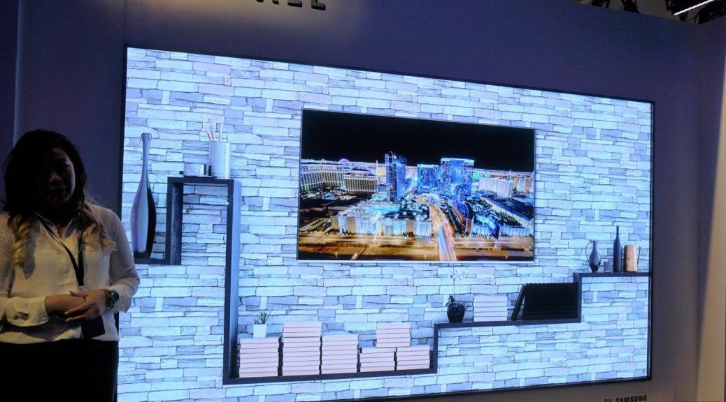 Samsung presenta su televisor MicroLED modular de 146 pulgadas