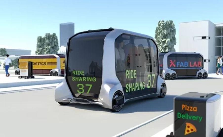 Toyota e-Palette: un vehículo autónomo y modular para el futuro del transporte