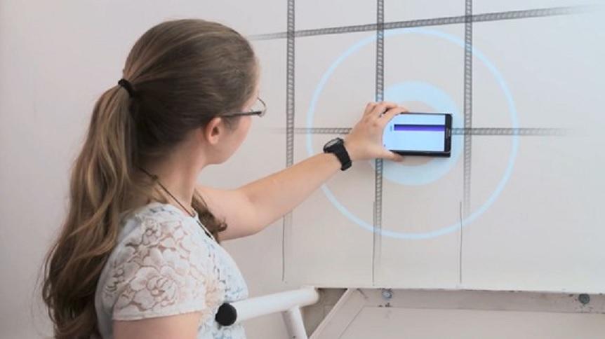 Accesorio para smartphone le permite ver a través de las paredes