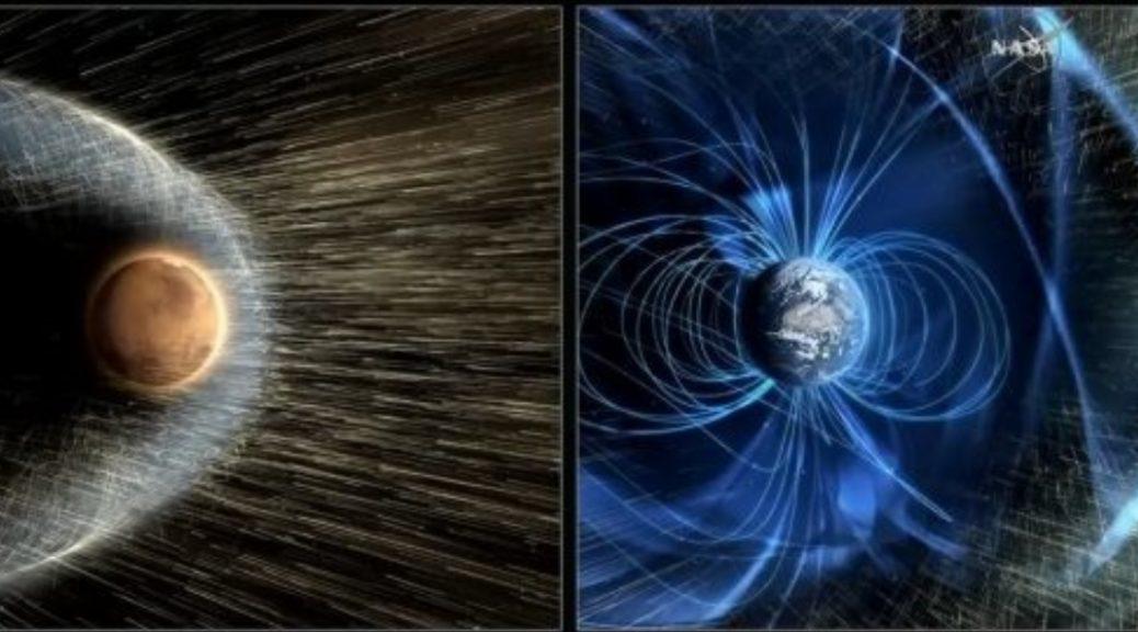 El plan de la NASA para 'terraformar' Marte creando un campo magnético artificial
