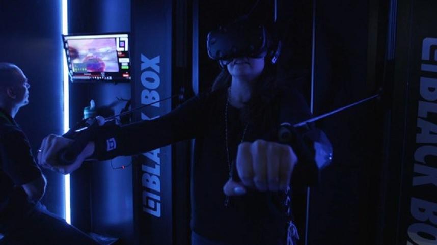 Black Box VR ha creado uno de los primeros gimnasios de realidad virtual del mundo