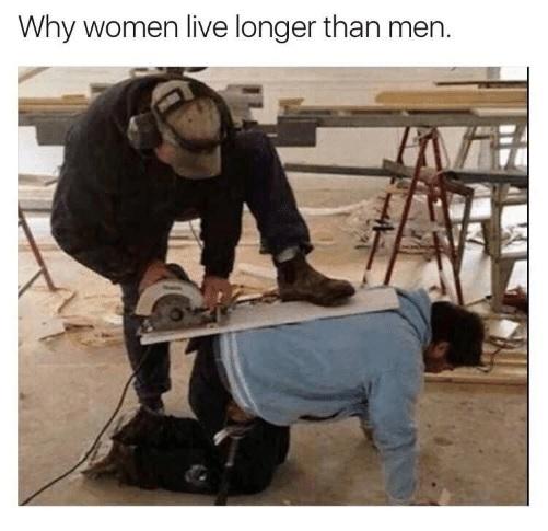 Las mujeres están diseñadas biológicamente para vivir más