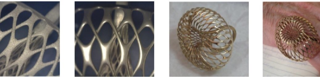 La impresión 3D en oro de 18 quilates puede transformar la industria de la joyería