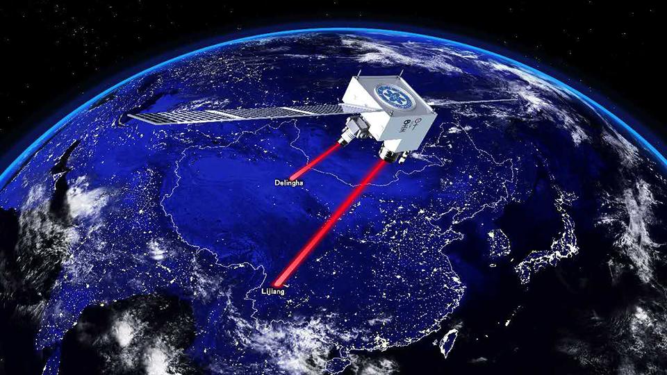 Red cuántica de 7.600 km, la más grande lograda hasta la fecha