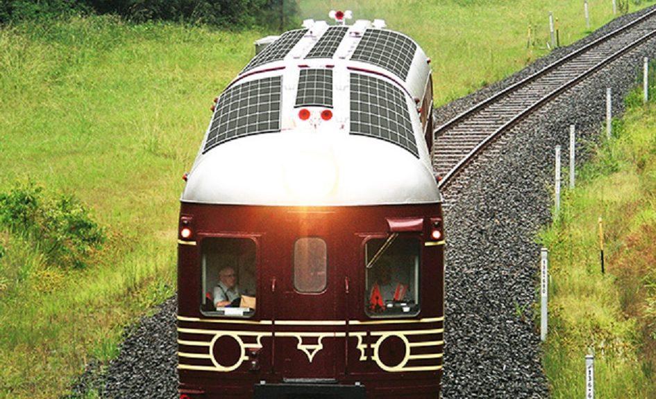 Comienza el servicio en Australia del primer tren totalmente solar del mundo