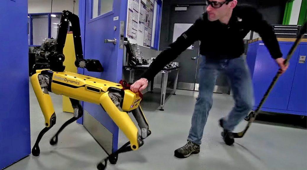 Video pone a prueba la frustración y fuerza del perro-robot de Boston Dynamics