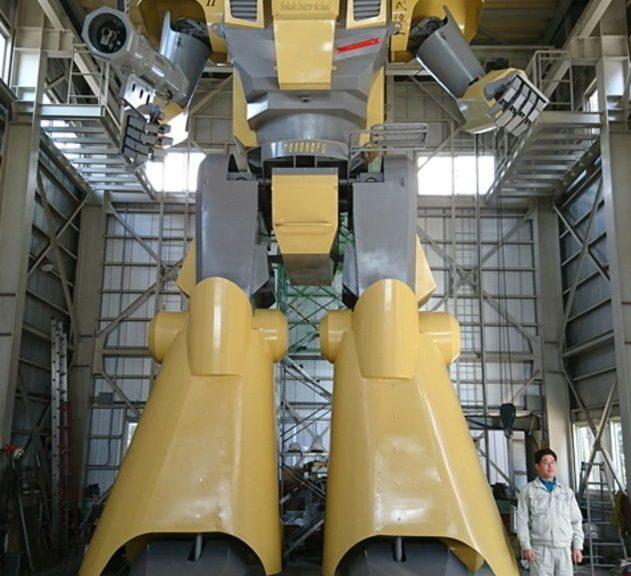 Japón presenta su espectacular robot gigante de nueve metros y 7.350 kilos completamente operativo