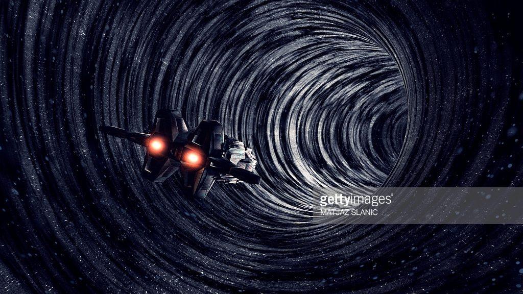 Resultado de imagen de Entrar en un agujero negro