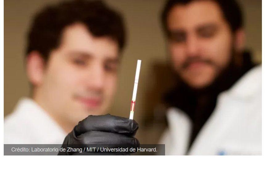 El primer kit diagnóstico basado en CRISPR cabe en una minúscula tira de papel