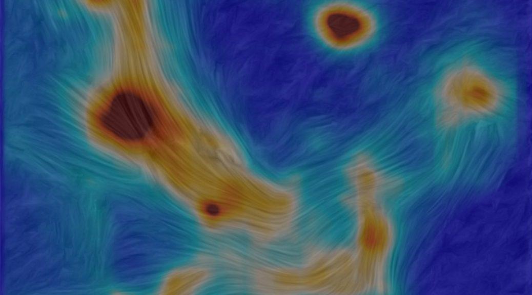 Imagen del centro de nuestra galaxia muestra cómo las cosas se mueven alrededor de un agujero negro