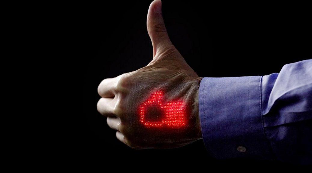 Investigadores japoneses desarrollan una pantalla ultrafina y altamente elástica